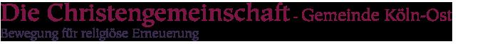 Die Christengemeinschaft in Köln-Ost